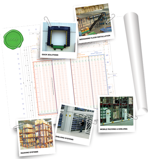 LOC8 Warehousing Solutions Collage