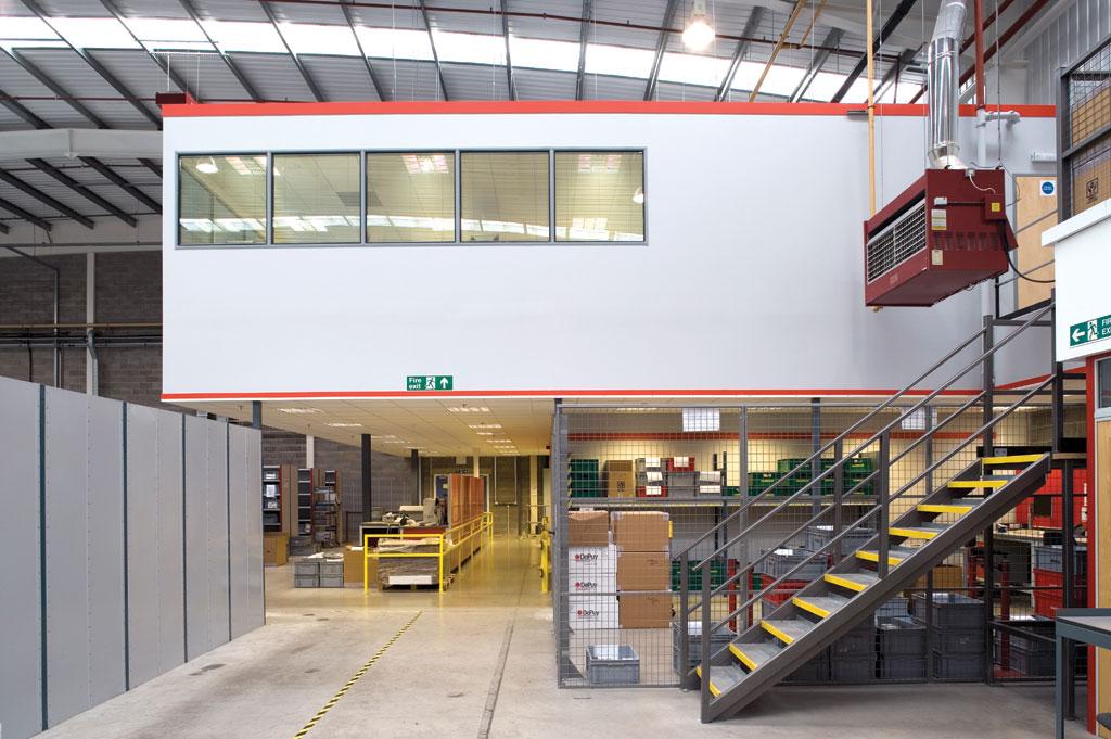 Warehouse Mezzanine Flooring - Mezzanine Floors | Loc8 UAE