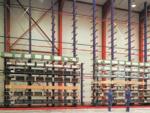 Cantilever Racks Vertical Storage