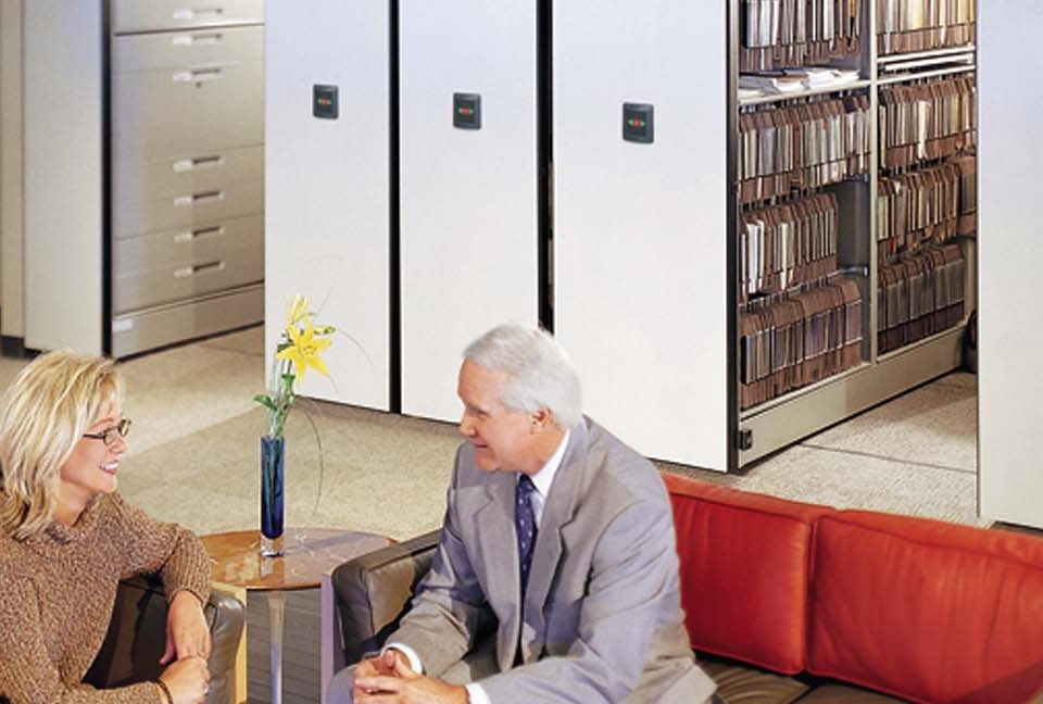 Warehouse Consulting Service and Mobile Shelving Image