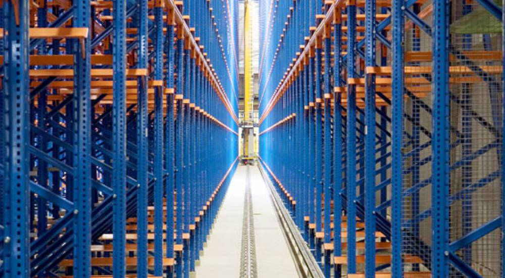 Warehouse Racking Lay out in UAE