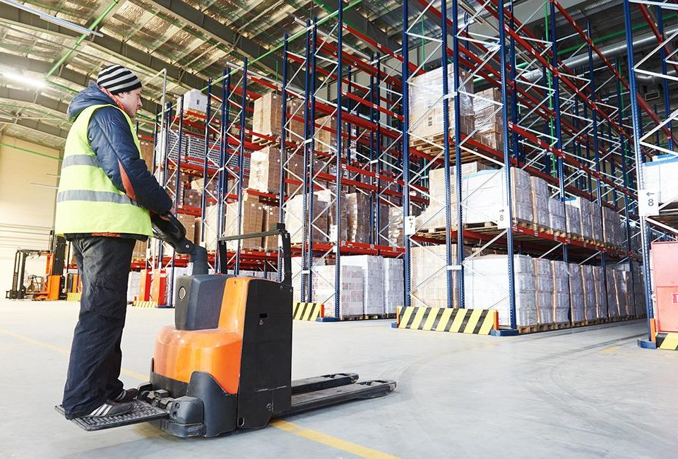 Warehouse Trends - Image of a Man in a Warehouse